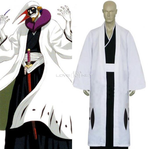 Rulercosplay Anime Products Bleach 12th Division Captain Kurotsuchi Mayuri White Cosplay Costume Who
