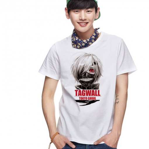 Tokyo Ghoul Adult Fashion Cotton Animation T-shirt 2 Colors