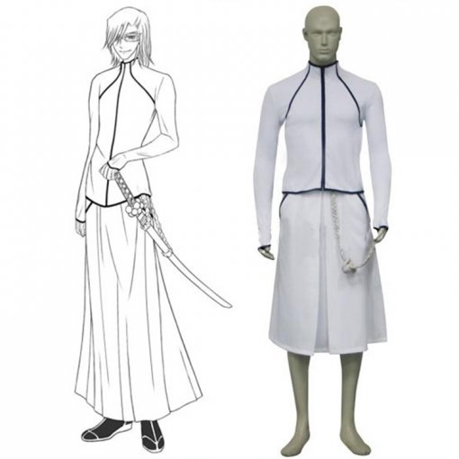 Rulercosplay Bleach Octava Espada SzayelAporro Granz White Cosplay Costume Wholesaler Resaler