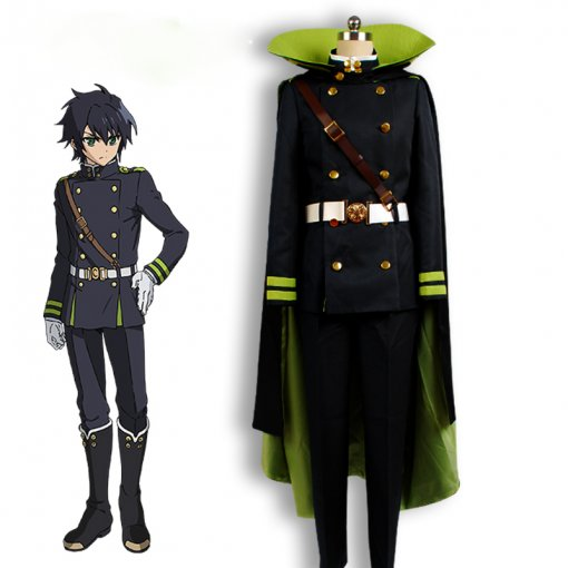 Rulercosplay Seraph Of The End Yuichiro Hyakuya Anime Cosplay Customes Wholesaler Resaler