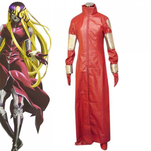Rulercosplay D Gray-Man Jasdero Red Cosplay Costume Wholesaler Resaler