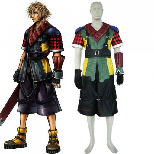 Rulercosplay Final Fantasy XII Shuyin Green Cosplay Costume Wholesaler Resaler