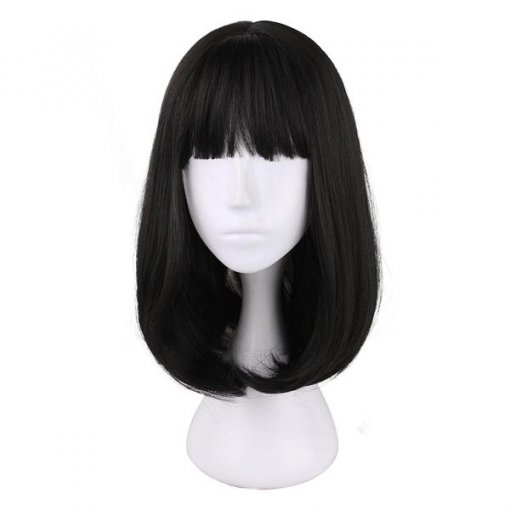 Rulercosplay Sweet Harajuku Original Black BoBo Lolita Wigs