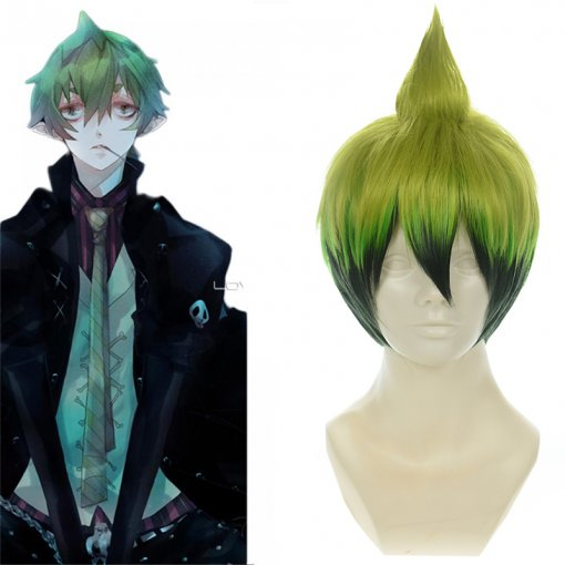 Rulercosplay Blue Exorcist Amaimon Short Multicolor Cosplay Anime Wigs Wholesaler Resaler