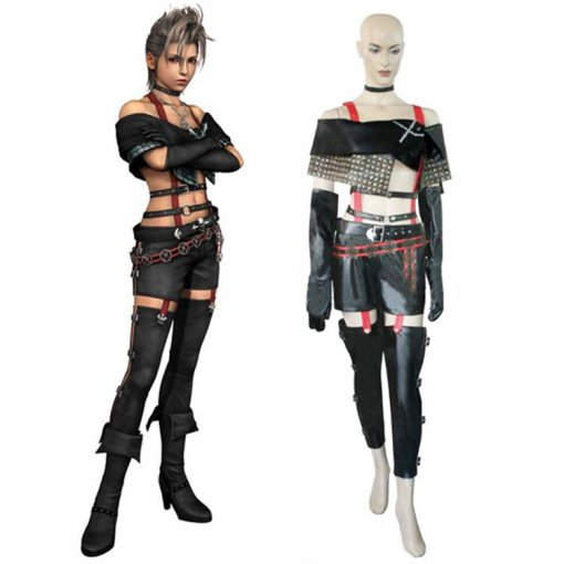 Rulercosplay Final Fantasy X-2 Paine Black Cosplay Costume Wholesaler Resaler