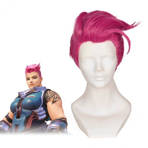 Rulercosplay Overwatch Zarya Short Pink Game Cosplay Wigs Wholesaler Resaler