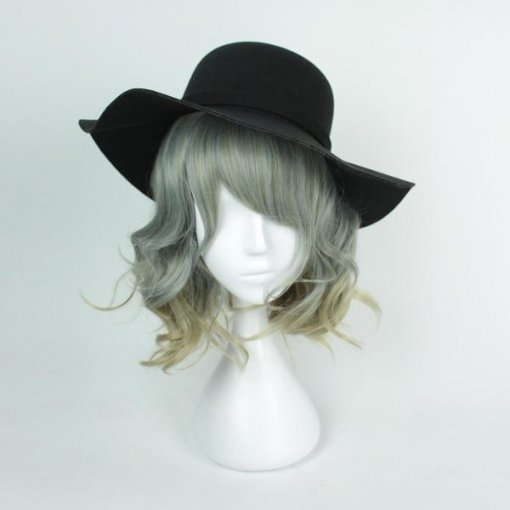Rulercosplay Sweet Harajuku Original Grey BoBo Ombre Lolita Wigs