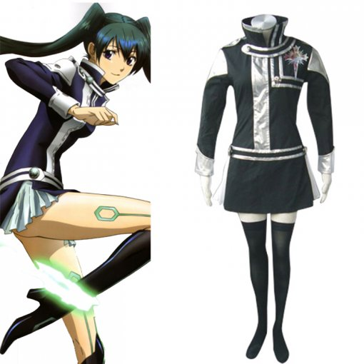 Rulercosplay D.Gray-Man Lenalee First Uniform Black Cosplay Costume Wholesaler Resaler