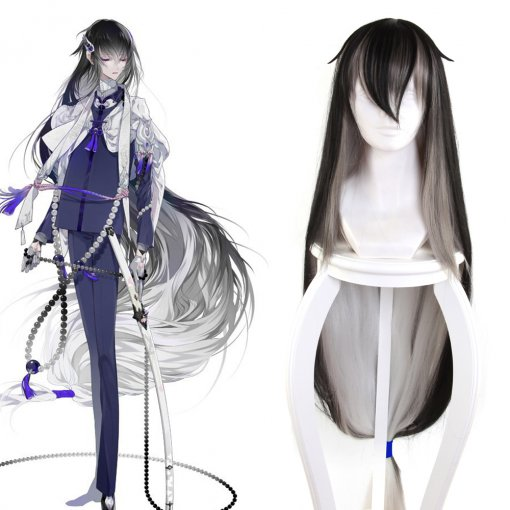 Rulercosplay Touken Ranbu Tsunetsugu Juzumaru Super Long Straight Cosplay Wigs Wholesaler Resaler