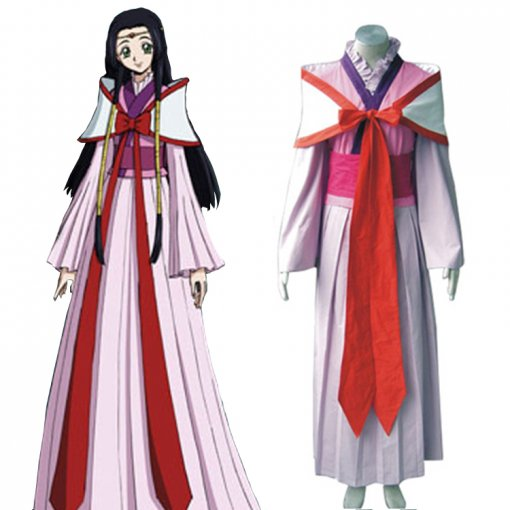 Rulercosplay Code Geass Kaguya Sumeragi Pink Cosplay Costume Wholesaler Resaler