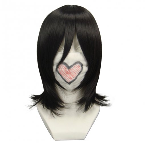 Rulercosplay Heat Resistant Fiber Inspired By Naruto Shizune Medium Black Anime Wigs Wholesaler Resa