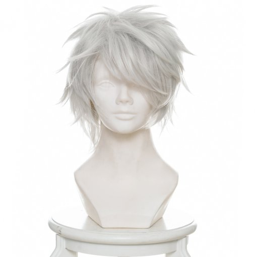 Rulercosplay 33cm 12taisen USAGI Short Silver Grey Anime Cosplay Wigs