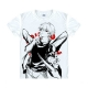 Tokyo Ghoul Fashion Animation White Smooth Decron T-shirt 040 More Patterns
