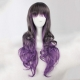 Rulercosplay Purple And Gray Lolita Curly Gothic Wigs Wholesaler Resaler