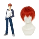 Rulercosplay Fate Stay Night UBW Shirou Emiya Short Red Cosplay Wigs Wholesaler Reslaer