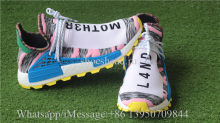 Fish Scale Boost PW X Adidas NMD Hu MOTH3R Solar Pack Pink Blue