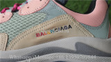 Balenciaga Washed Old Show Sneaker Pink Brown Grey