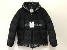 Moncler Black Down Coat