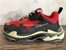 Balenciaga Fall Winter Washed Old Show Triple S Sneaker Breds