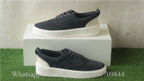 Fear Of God Vintage Sneaker Black Suede