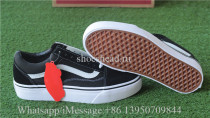 Vans Old Skool Platfor Trainer Black White