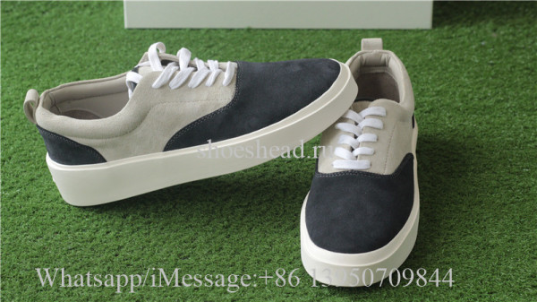 Fear Of God Vintage Sneaker Black Bone Suede