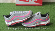 Nike Air Max 97 Wolf Grey Solar Red
