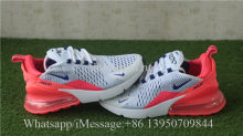 Nike Air Max 270 White Ultramarine Solar Red