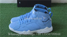 Authentic Air Jordan 7 Pantone Blue