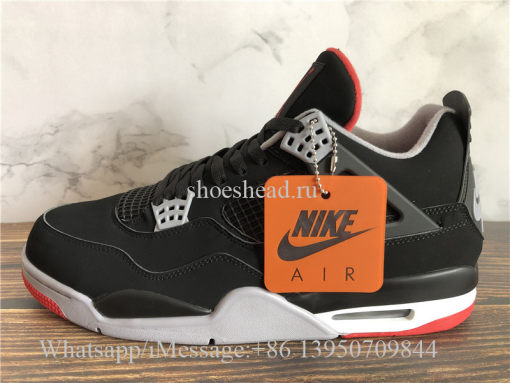 Air Jordan 4 Retro Bred Black Cement 2019