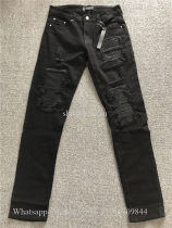 Amiri Black Denim MX1 Slim Jeans