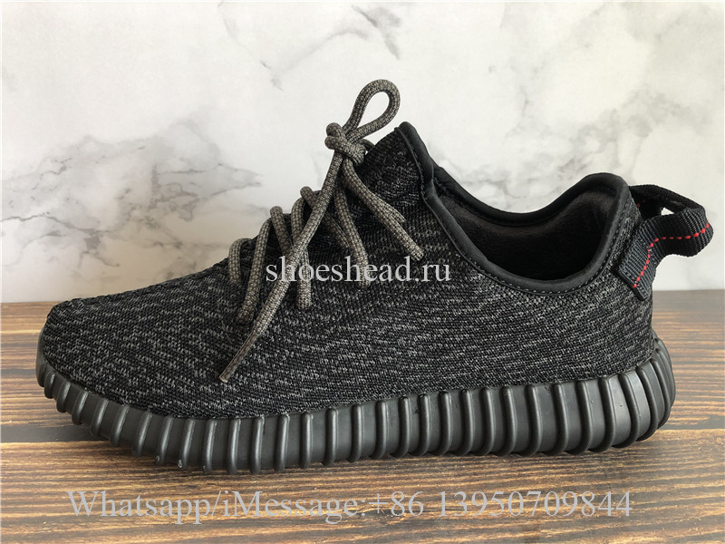 low priced 2445f 7ad62 God Version Adidas Yeezy Boost 350 V1 Pirate Black