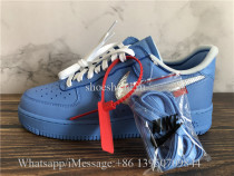 Off White x Nike Air Force 1 MCA Blue