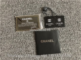 Original Quality Chanel Gabrielle Backpack Small White Black
