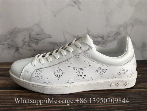 Louis Vuitton Low Top Sneaker White