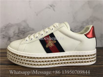 Super Quality Gucci Crystal-embellished Ace Sneakers