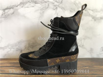 Super Quality Louis Vuitton LV Laureate Platform Desert Boot Black