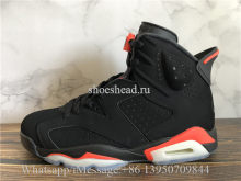 Air Jordan 6 Retro Black Infrared Nike Back Logo