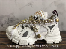Gucci Flashtrek Sneaker With Removable Big Crystals