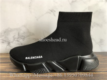 Balenciaga Speed Trainer Sock Triple Black