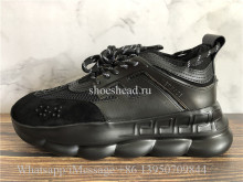 2Chainz Versace Chain Reaction Shoes All Black