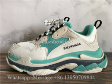 Balenciga Triple S Trainer Light Green White