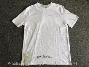 Off White Shirt White Color