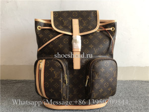 Original Louis Vuitton Bosphore Backpack Monogram Canvas