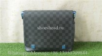 Louis Vuitton District PM Damier Graphite Canvas Leather Bag