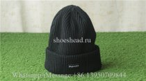 Supreme Black Sweater Hat
