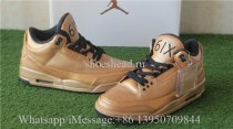 Drake OVO x Air Jordan 3 Gold Black 6IX
