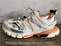 Best Version Balenciaga Track 3.0 Orange White Sneaker Tess.s.Gomma