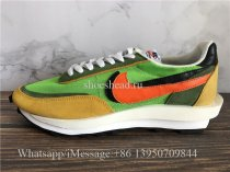 Sacai x Nike LDWaffle Daybreak Green Orange