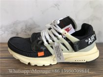 Super Quality Off White x Nike Air Presto Black